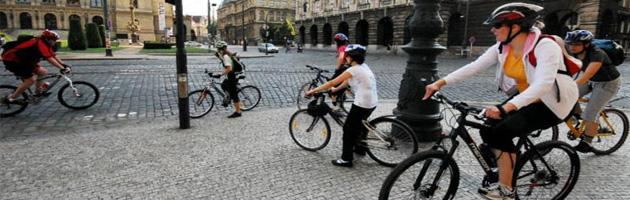 Chytrá města nasedají na kola