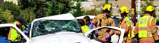 Informace pro záchranné týmy při zásahu po havárii