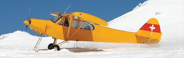 Ovládání a ochrana proti námraze u malých letadel