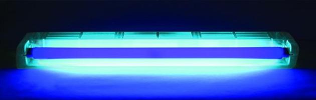 Záření vydávané ultrafialovými lampami