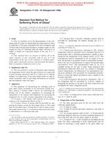ASTM C338-93(1998) 10.10.1998 - Standard Test Method for Softening Point of Glass