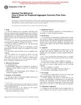 ASTM C939-97 10.7.1997
