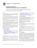 ASTM C977-03(2009) 1.12.2009