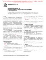 ASTM D2121-00 10.6.2000 - Standard Test Methods for Polymer Content of Styrene Monomer and AMS (alpha-Methylstyrene)