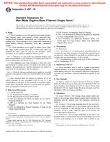 ASTM D2497-95 10.4.2001 - Standard Tolerances for Man-Made Organic-Base Filament Single Yarns