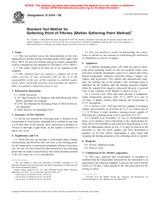 ASTM D3104-99 10.10.1999 - Standard Test Method for Softening Point of Pitches (Mettler Softening Point Method)