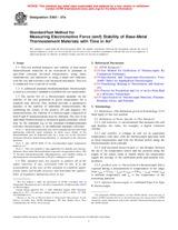 ASTM E601-07a 1.11.2007