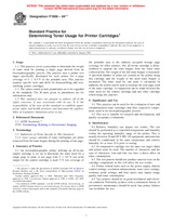 ASTM F1856-04e1 1.5.2004 - Standard Practice for Determining Toner Usage for Printer Cartridges
