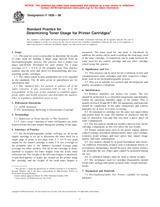 ASTM F1856-98 10.3.1998 - Standard Practice for Determining Toner Usage for Printer Cartridges