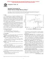 ASTM F2005-00 10.1.2000 - Standard Terminology for Nickel-Titanium Shape Memory Alloys