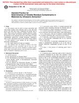 ASTM G136-96 10.3.1996