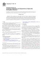 ASTM F1063-09 1.6.2009