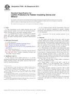 ASTM F696-06(2011) 1.4.2011
