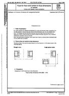 DIN 3202-4 1.4.1978 - Face-to-face and centre-to-face dimensions of valves; Valves with female thread connection.