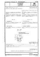 DIN 65157 1.6.1989 - Aerospace; steel collars, metric series.