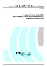 ETSI EG 201220-V1.4.0 21.9.1999