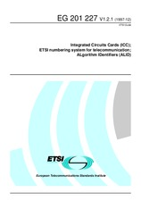 ETSI EG 201227-V1.2.1 31.12.1997