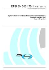 ETSI EN 300175-1-V1.8.1 18.11.2004