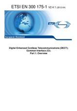 ETSI EN 300175-1-V2.4.1 23.4.2012