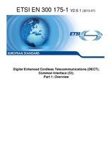 ETSI EN 300175-1-V2.6.1 29.7.2015