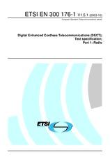 ETSI EN 300176-1-V1.5.1 15.10.2003