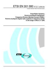 ETSI EN 301080-V1.2.1 29.2.2000