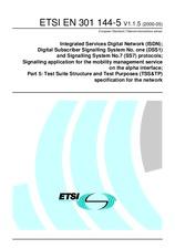 ETSI EN 301144-5-V1.1.5 31.5.2000