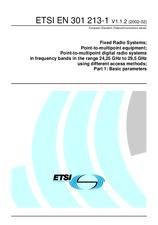 ETSI EN 301213-1-V1.1.2 14.2.2002