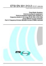 ETSI EN 301213-2-V1.2.1 26.9.2000