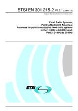 ETSI EN 301215-2-V1.2.1 14.11.2000