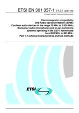 ETSI EN 301357-1-V1.2.1 28.6.2001