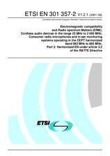 ETSI EN 301357-2-V1.2.1 28.6.2001