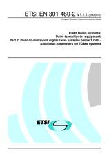 ETSI EN 301460-2-V1.1.1 17.10.2000