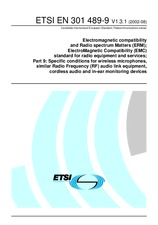 ETSI EN 301489-9-V1.3.1 29.8.2002