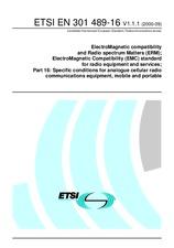 ETSI EN 301489-16-V1.1.1 28.9.2000