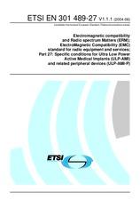 ETSI EN 301489-27-V1.1.1 1.6.2004