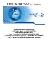 ETSI EN 301559-1-V1.1.2 19.6.2012