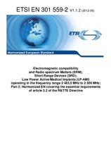 ETSI EN 301559-2-V1.1.2 19.6.2012