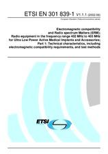 ETSI EN 301839-1-V1.1.1 10.6.2002