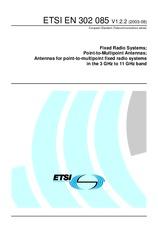 ETSI EN 302085-V1.2.2 26.8.2003