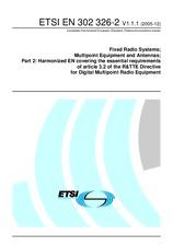 ETSI EN 302326-2-V1.1.1 22.12.2005