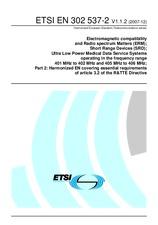 ETSI EN 302537-2-V1.1.2 20.12.2007