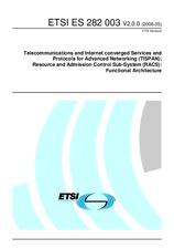ETSI ES 282003-V2.0.0 26.5.2008