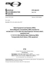 ETSI ETS 300673-ed.1 15.3.1997