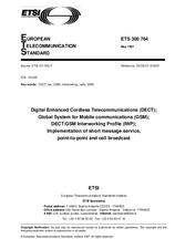 ETSI ETS 300764-ed.1 15.5.1997