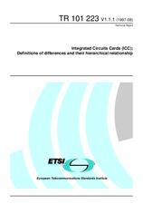 ETSI TR 101223-V1.1.1 31.8.1997