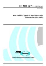 ETSI TR 101227-V1.1.1 30.7.1997