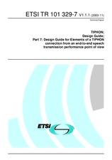 ETSI TR 101329-7-V1.1.1 17.11.2000