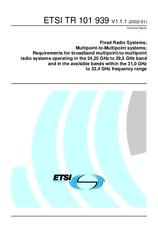 ETSI TR 101939-V1.1.1 5.2.2002