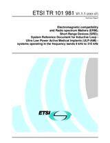 ETSI TR 101981-V1.1.1 20.7.2001